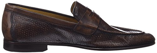 Lottusse L6974, Mocassins (Loafer) Homme Marron (Cang Dc Perf Moka)