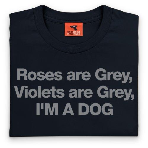 Roses T-Shirt, Herren Schwarz