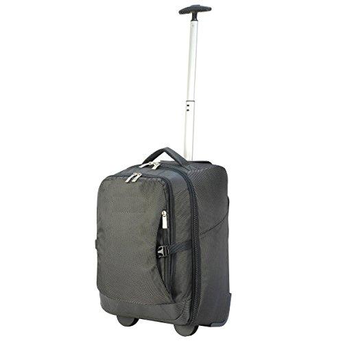 Shugon Roma - Sac de voyage à roulettes cabine (30 litres) (Taille unique) (Noir)