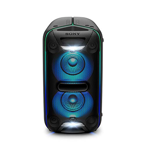 Sony GTK-XB72 High PowerParty Lautsprecher (Bluetooth, NFC, One Box Hifi Music System, Extra Bass, Lichtleiste, Lautsprecherbeleuchtung, Stroboskoplicht) schwarz