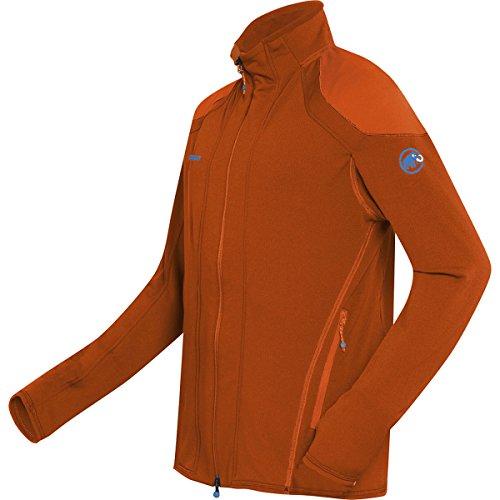 Mammut Herren Fleecejacke Eiswand Micro dark orange