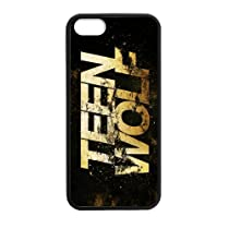 Personalized Protective Hard noir Phone Coque for Coque iphone 7 - Teen Wolf -i7A567
