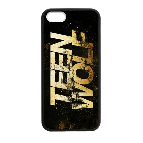 Personalized Protective Hard noir Phone Coque for Coque iphone 7 - Teen Wolf -i7A567, Coques iphone