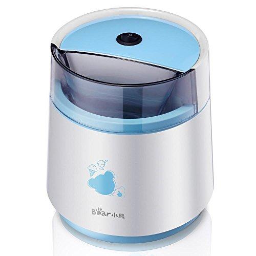 GZD Machine à crème glacée, yaourt, glace double fonction Freeze, 800 ml Accueil automatique