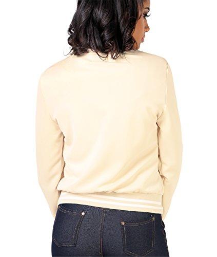 KRISP Damen Leichte College Jacke Gold Zipper - 3