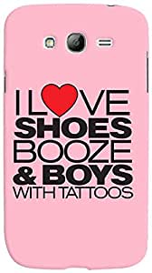 PrintVisa Girly Quotes Case Cover for Samsung Galaxy Grand Neo