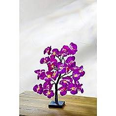 LED Baum mit lila...