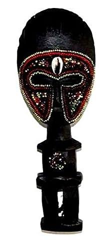 AFRIQUE ART DECORATION -Poupée ashanti avec perles 3104-AX-106