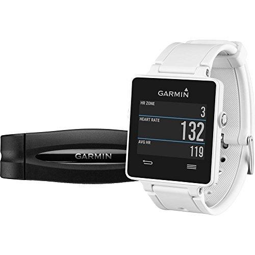 GARMIN VIVOACTIVE HRM - SMARTWATCH CON GPS Y PULSOMETRO  COLOR BLANCO
