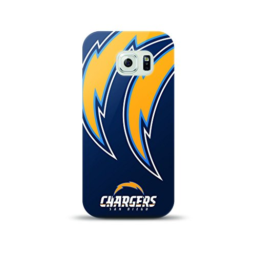 Mizco Sports Case Samsung Galaxy S6 Licensed TPU NFL San Diego Chargers Case (Mizco Sport)