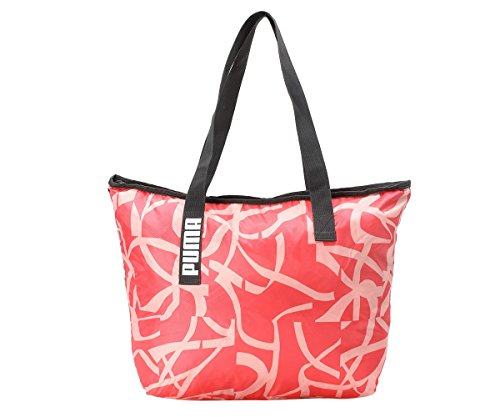 PUMA Core Active Shopper Tasche, Paradise Pink/Phantom Black/AOP, 45x1x35 cm