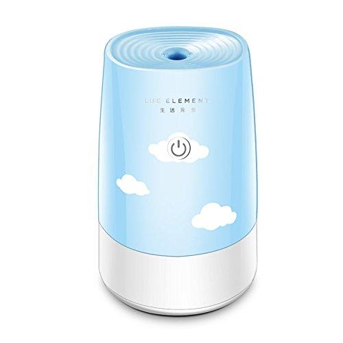 YL Humidificador de Aire ultrasónico con difusor de Aire con Aroma eléctrico USB 180Ml, Aceite Esencial de aromaterapia y Niebla Fresca, para Oficina, Sala de Estar y Estudio Estudio Yoga SPA