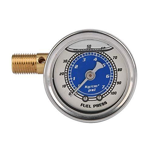 Kraftstoff-Manometer, Auto-Kraftstoff-Öldruck-Flüssigkeit gefüllt Manomete -
