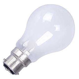 AUK ED002-100 GLS Triple Life Bulb, BC Opal, 100W (Pack of 10)