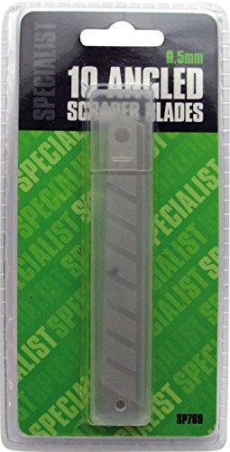 Specialist abgewinkelte Abstreifer Packung mit 10Stück–Einzelhandelsverpackung–inkl. antibakterieller Stift von Tigerbox