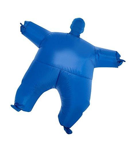 Morphsuits blu Megamorph gonfiabile Kids costume–Taglia unica