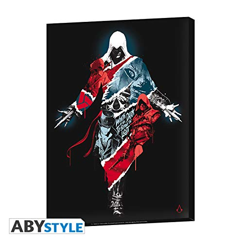 ABYstyle Abysse Corp _ abydco461Assassin 's Creed-Leinwand-Legacy (30x 40) X2