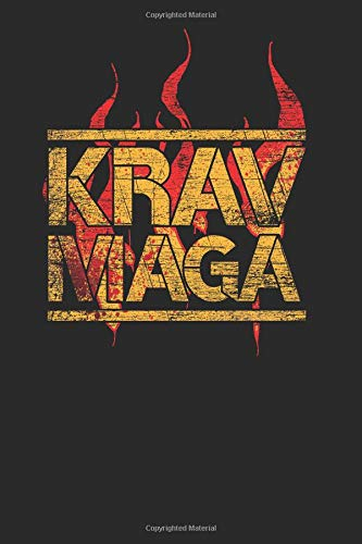 krav maga: krav maga notebook, blank lined (6 x 9 - 120 pages) ~ martial arts themed notebook for daily journal, diary, and gift