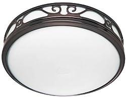 Hunter 83002 Ventilation Sona Bathroom Exhaust Fan with Light, Imperial Bronze (Bathroom Vent Fan, Exhaust Fan)