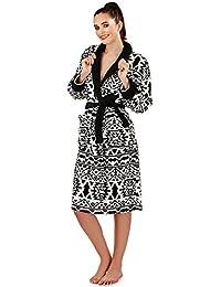 Loungeable Ladies Luxury forro polar Super suave Túnica