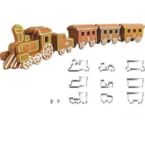 Tagliabiscotti treno Zenzero Delicia Tescoma
