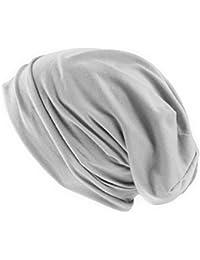 Long Beany Sommermütze Mütze Lang und dünn (Silber)