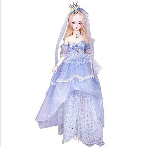 MEMIND Märchen Bjd 60 cm Nach Maß Puppe Süßes Kleid Mädchen Dress Up Ausländische Puppe Spielzeug Prinzessin Dekoration Kind Spielkamerad Spielzeug,Cinderella