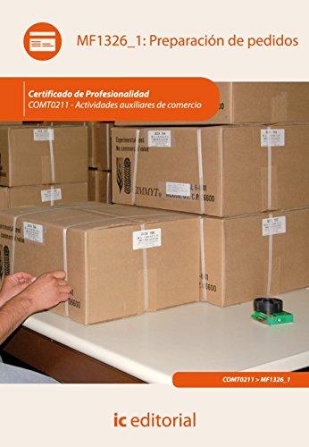 Portada del libro Preparación de pedidos. comt0211 - actividades auxiliares de comercio