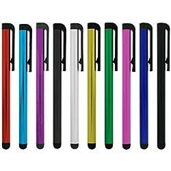 Lápiz óptico de microfibra para dispositivos con pantalla táctil 10 stylus pen Stylus