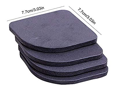 (Anti Vibration Mat), for Washing Machine and Fridge, (Shock Absorbing Mat) BY Noondl