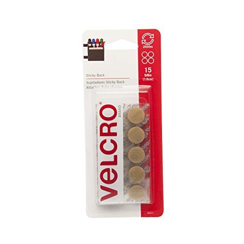 Velcro Klettverschluss Marke-Sticky Back-5/20,3cm Münzen, 15Sets-Beige, beige, 15 Sets -