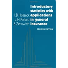 Intro Stats Applicat Insurance 2ed