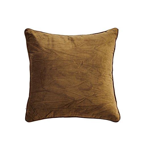 Semplice cuscino in pile tinta unita/ moderno peluche cuscino/ divano cuscini/ indietro cuscino letto-N 55x55cm(22x22inch)VersionB