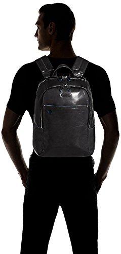 41AdY5MZKBL - Piquadro Blue Square Mochila portaordenador con compartimentoportaiPad®/iPad®mini acolchado - CA3214B2