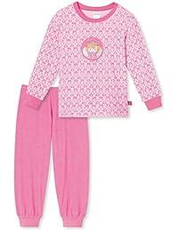 9d5bcaf436 Schiesser Mädchen Langer Schlafanzug/Pyjama 154379 in Rose (506 Rose)
