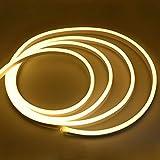 pudu Flex LED Strip Warmweiß LED Streifen Neon Stripe 220V 12w/m inklu. Eurostecker SMD 2835 super hell (1m)