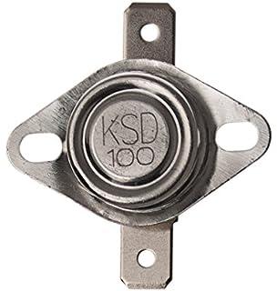TEMPERATURSCHALTER ÖFFNER 170 °C BIMETALLSCHALTER 250V THERMO SCHALTER KERAMIK
