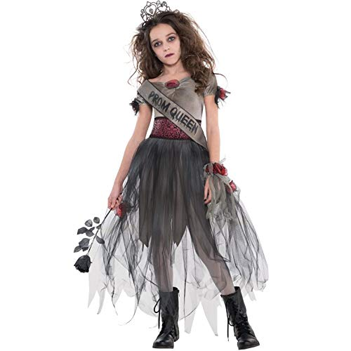 Zombie Prom Kostüm Teen - Königin Kostüm Teen M Prombie für Zombie-Kostüm Outfit