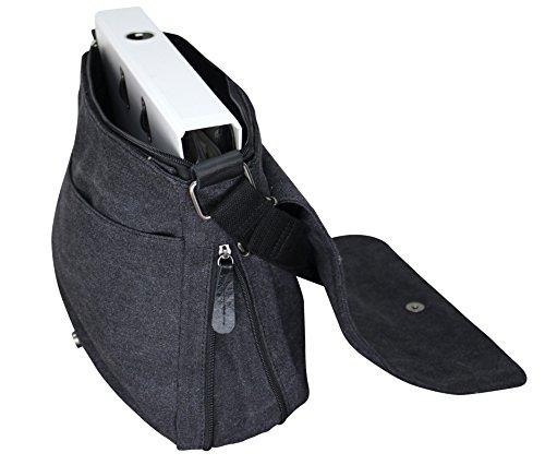 Damen Stern Handtasche Schultasche Clutch TOP TREND Tragetasche Schwarz