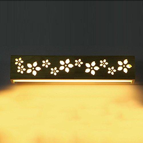 Nordic Creative lampe de chambre lampe murale balcon lampe de chevet couloir simple, bois chaud mur