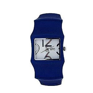 Eton 3024L – Reloj, Correa de Metal Color Azul