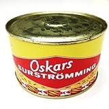 Oskars Surströmming 440g / 300g Fisch Dose (fermentierte Heringe) -