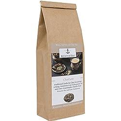 Küstentee® - Chailatte, Originale traditionell süß - würzige Masala Chai Gewürzmischung, mit Vanillestückchen verfeinert, ohne Zuckerzusätze und künstliche Geschmacksverstärker