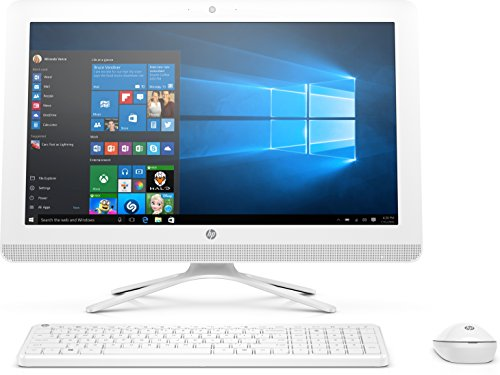 HP 2WE58EA#ABF Ordinateur Tout-en-Un 22' Blanc Neige (Intel Core_i3, 8 Go de RAM, 1 to, HD630, Windows 10) Clavier AZERTY Français