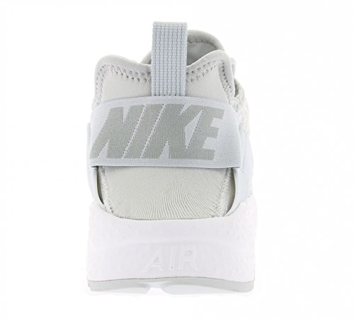 Nike Donna W Air Huarache Run Ultra KJCRD scarpe sportive Bianco (Blanco (Wht / Mtllc Slvr-Mtllc Slvr-Wlf))