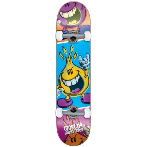 Skateboard 28 Komplett (Technicolor Boy Mini komplett (7.0x 28))