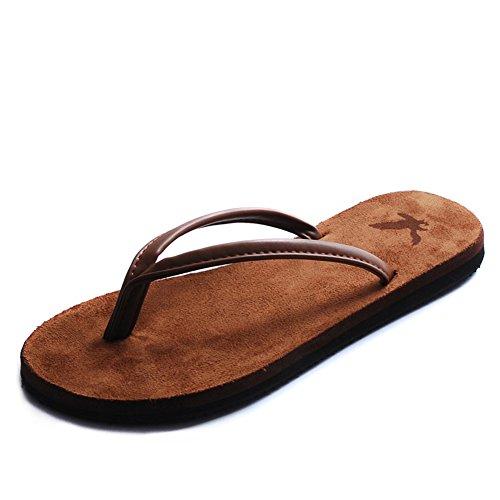 pantoufles hommes d'été/Sandales Casual/Slip sandales/Sandales et pantoufles A