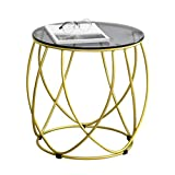 Beistelltische, Runde Seite/Kaffee/Esszimmer/Lampe/Beistelltisch, 45 x 46 cm