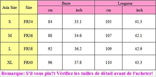 SUNNOW Tunique Femme Manches Longues Casual En Vrac Ourlet Irrégulier Mode Robe T-shirt Top Pour Hiver Automne Café