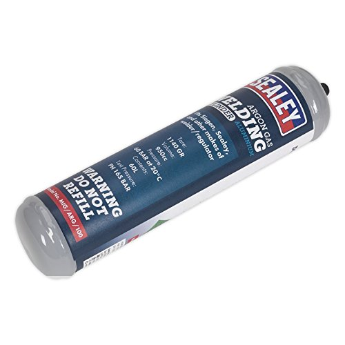 SEALEY Gasflasche Argon 60 Liter Einweg-
